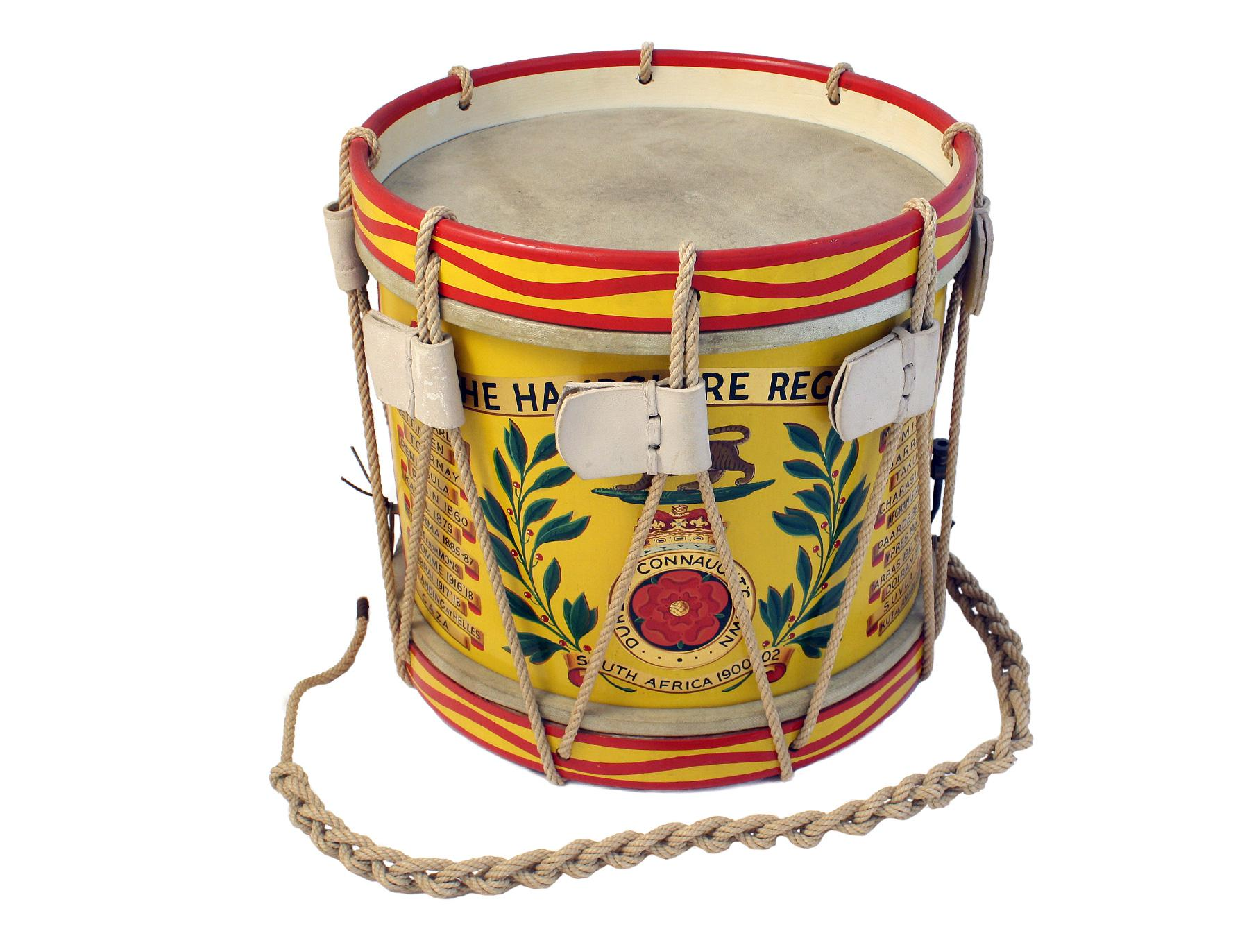 A Regimentally Marked Drum