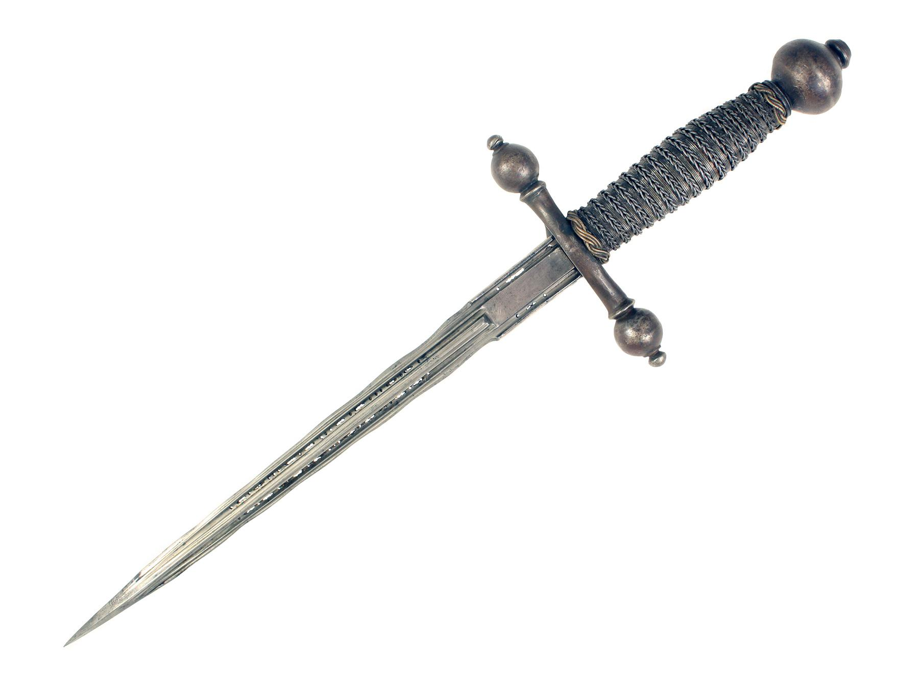 A Superb Left Handed Dagger