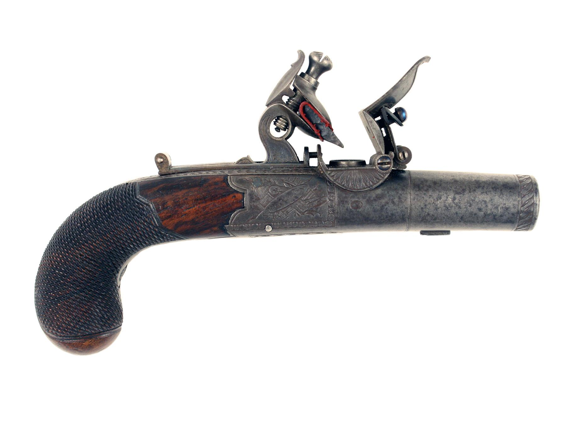A Fine Pocket Pistol by Wilkinson