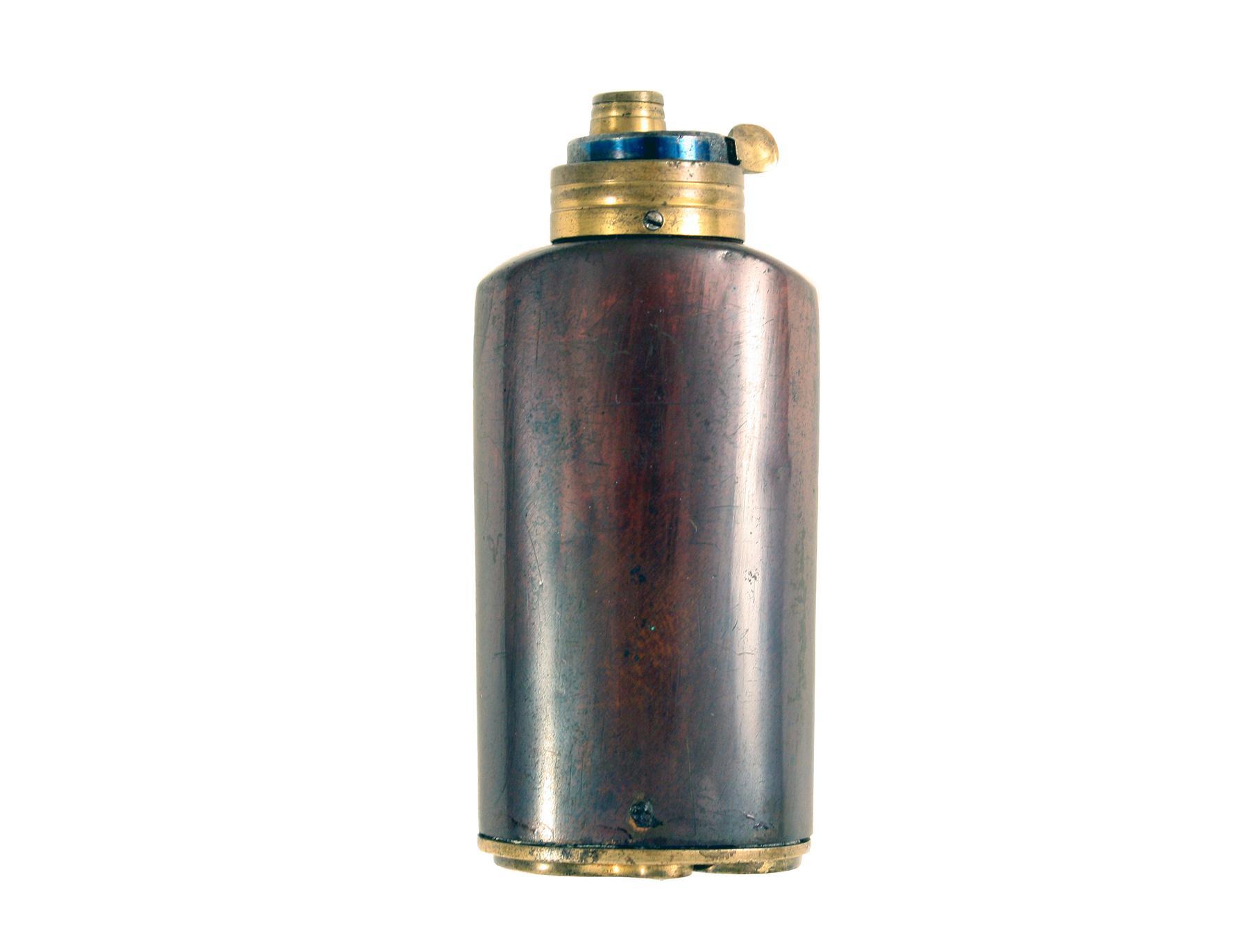 A Scarce Pistol Flask