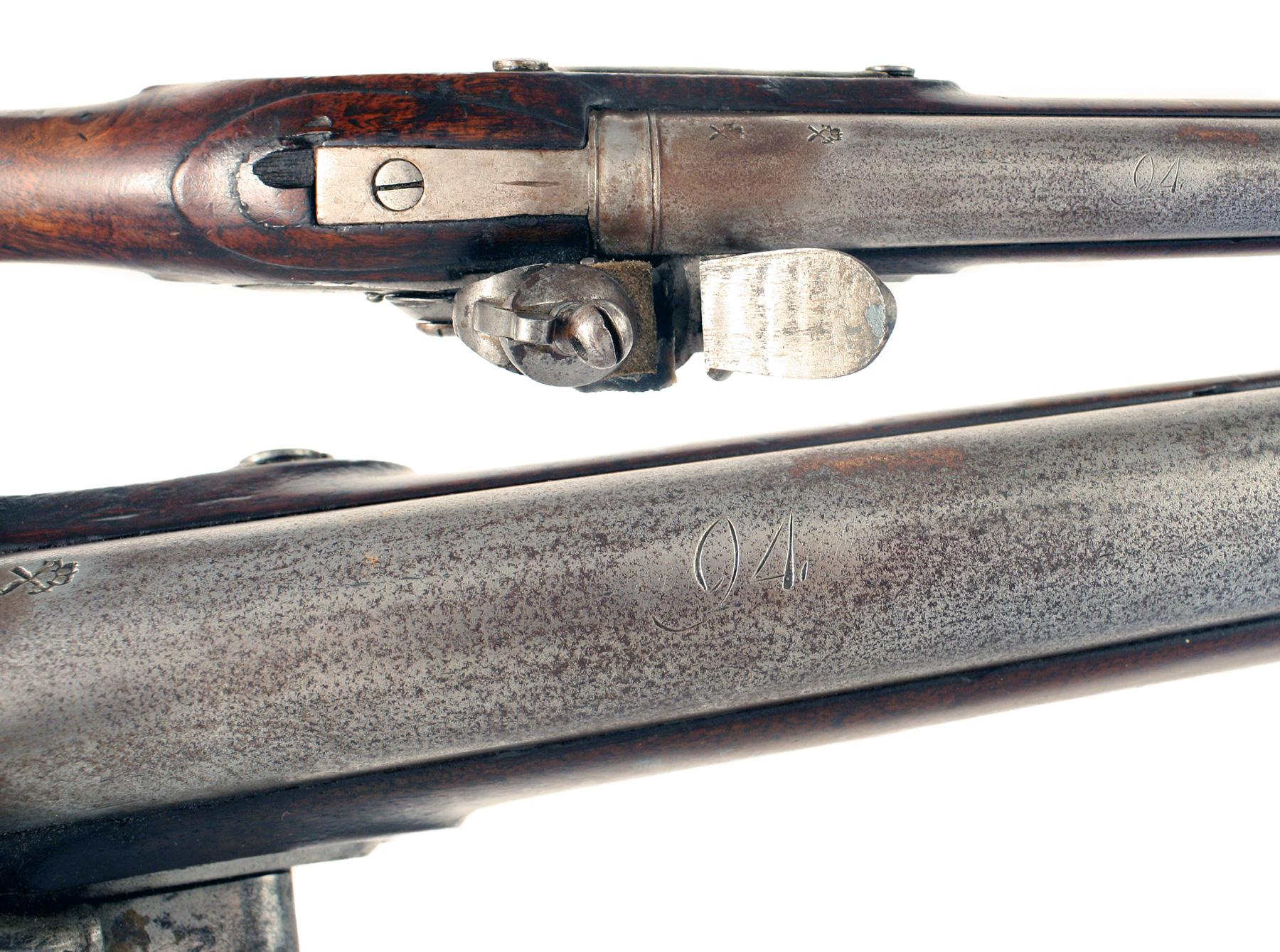 A Flintlock Brownbess from Wollaton Hall