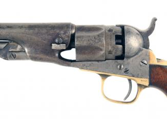 A Colt Police Revolver