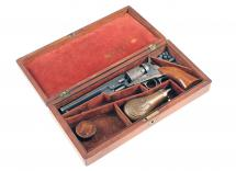 "A Cased 6"" Colt Pocket Revolver, No: 89789"
