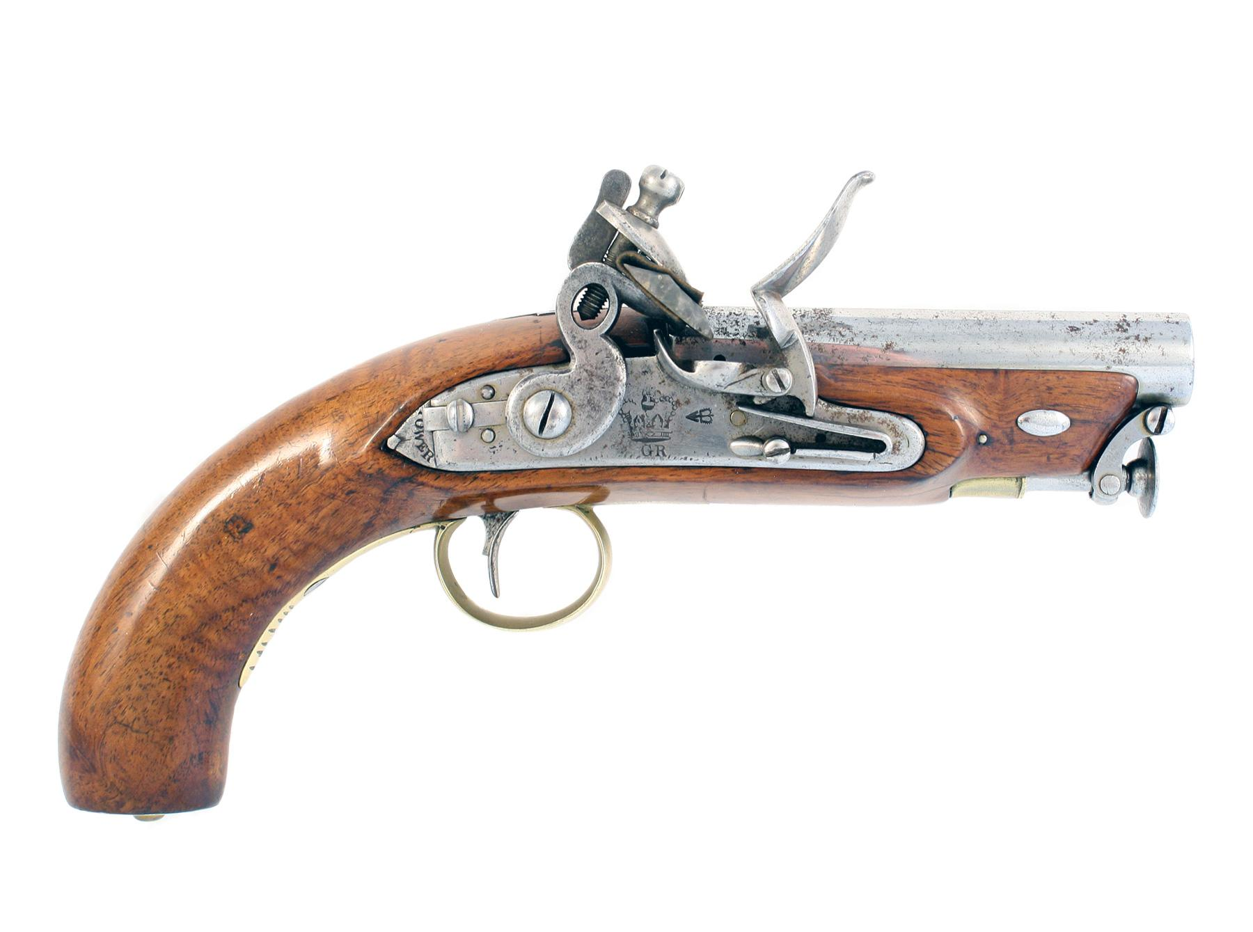 A Scarce Coast Guard & Customs Service Pistol