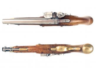 A Crisp William IV Flintlock Pistol
