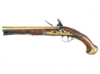 An Early Flintlock Pistol by G. Reed
