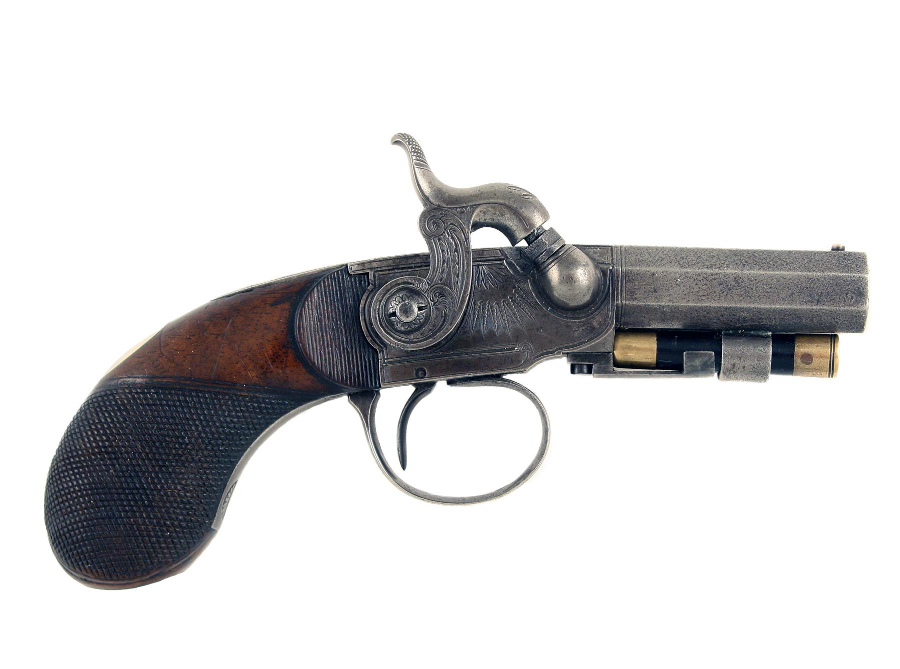 A Scarce Irish Pistol