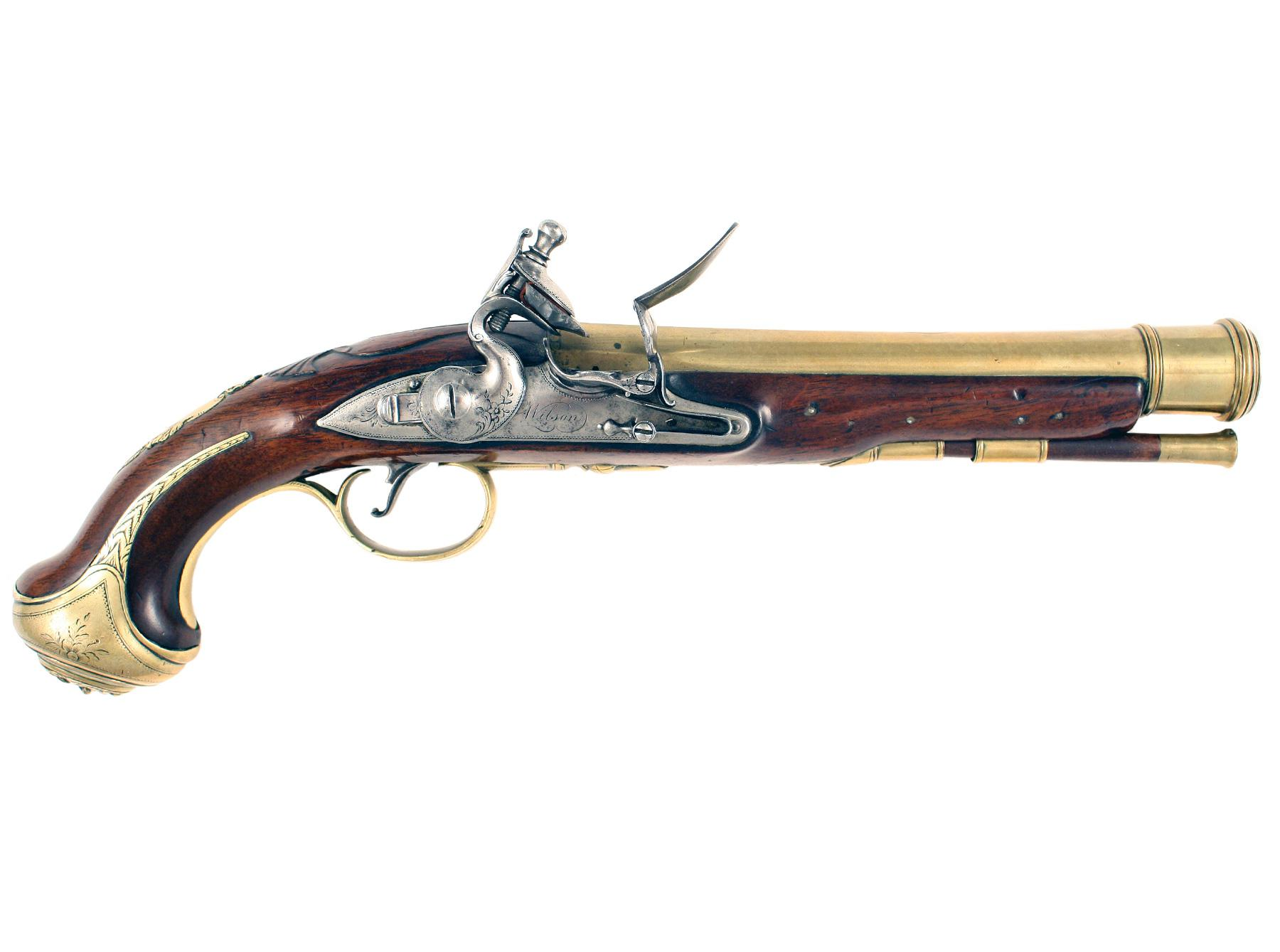 An Outstanding Flintlock Blunderbuss Pistol