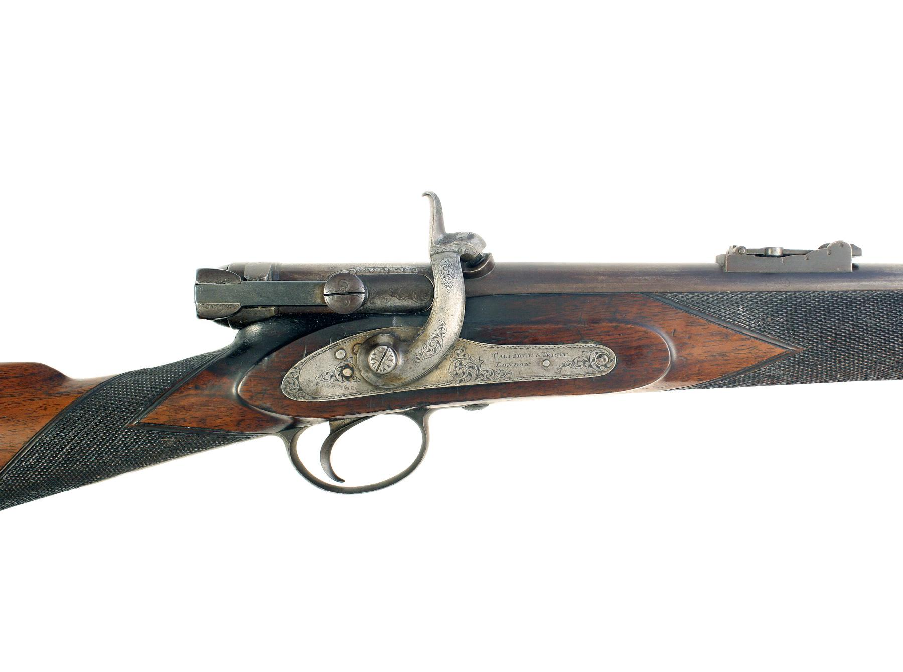 A Breech-Loading Calisher & Terry Rifle