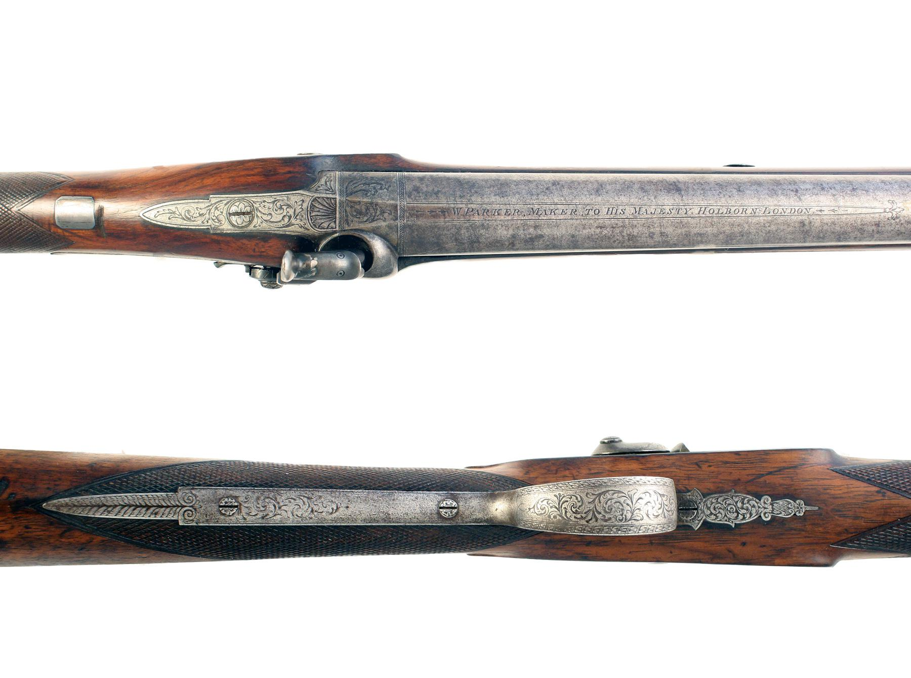 A Percusion Fusil by Parker of London