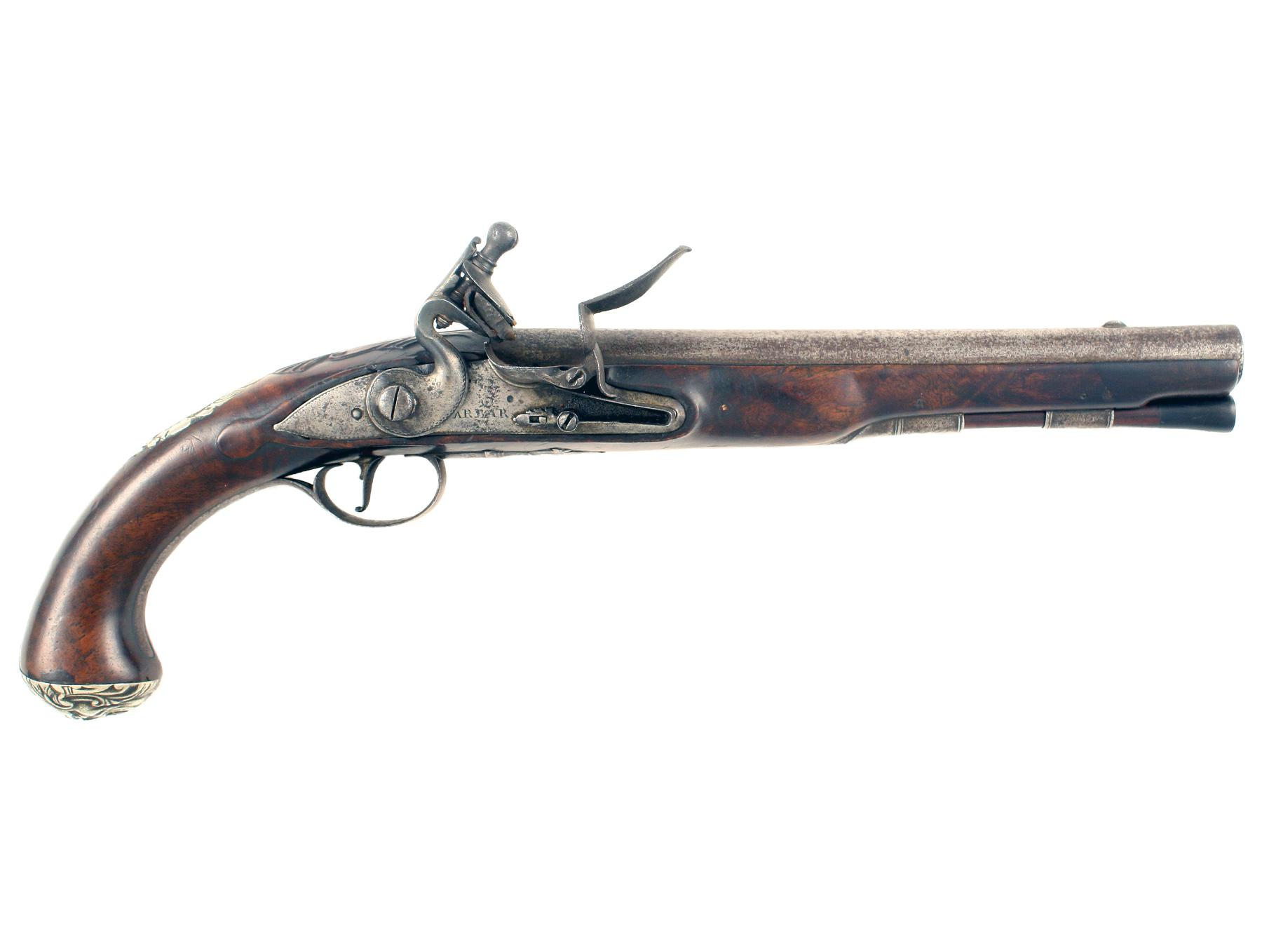 A Scarce and Unusual Pair of Pistols by Barbar