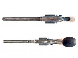 A Model 1863 Starr Army Revolver