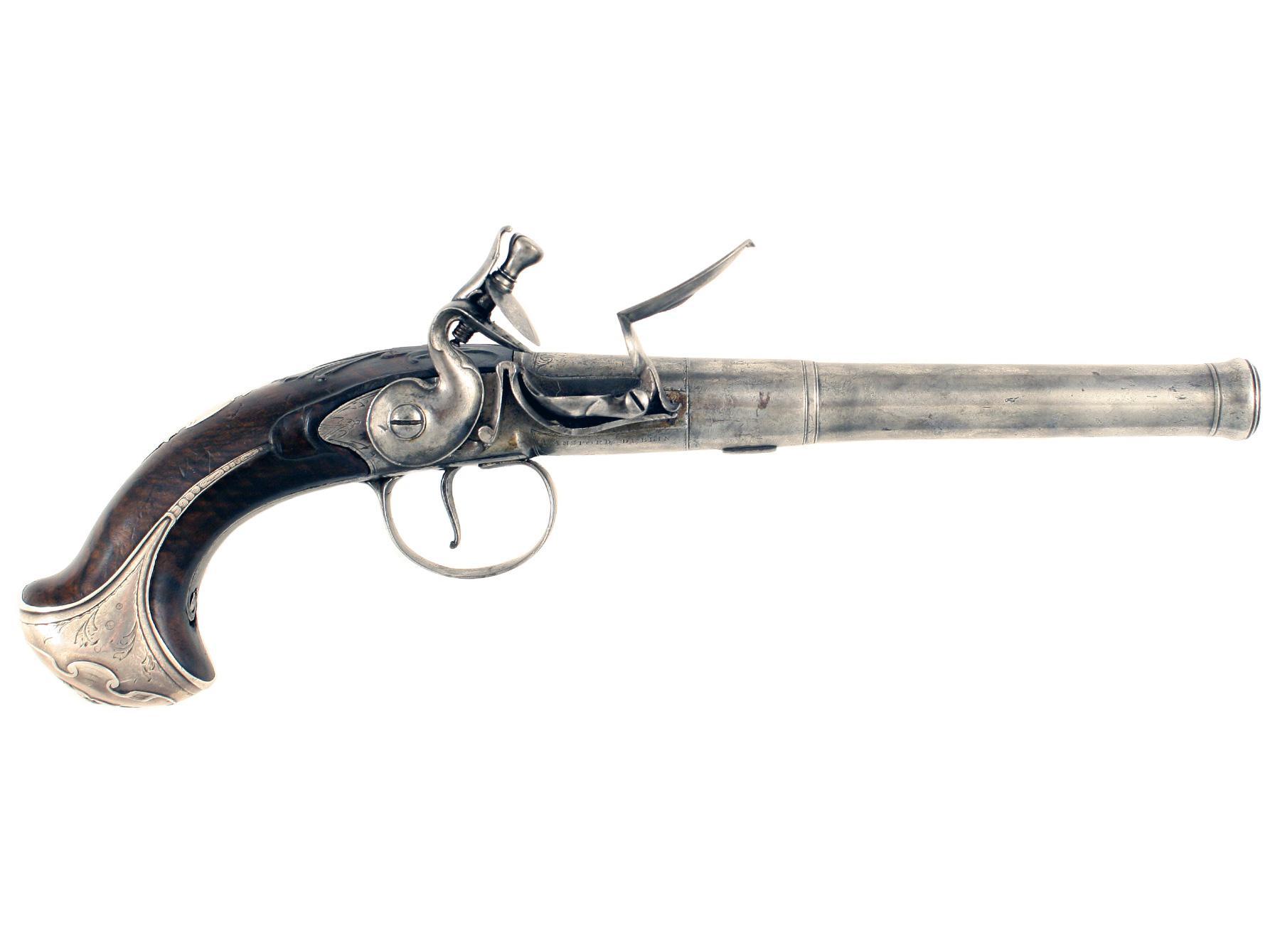 An Irish Queen Anne Pistol