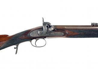 A .451 Percussion Match Rifle by A. Henry