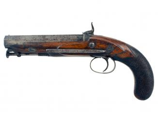 A Percussion Belt Pistol by Westley Richards
