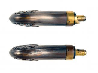 A Pistol Flask by Dixon