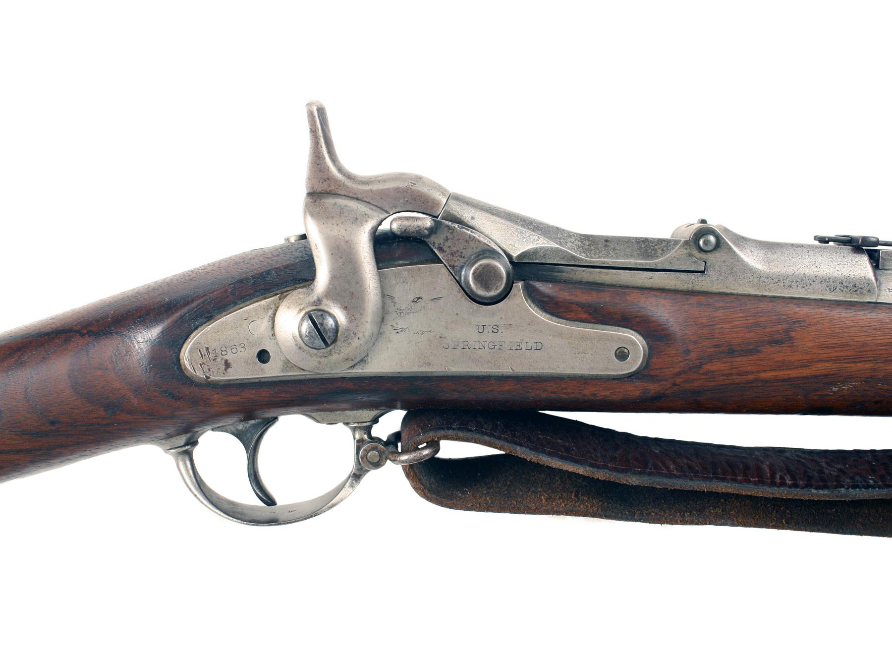 A Model 1868 U.S. Springfield Rifle