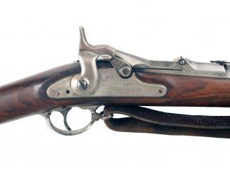 A Model 1868 U.S. Springfield Rifle