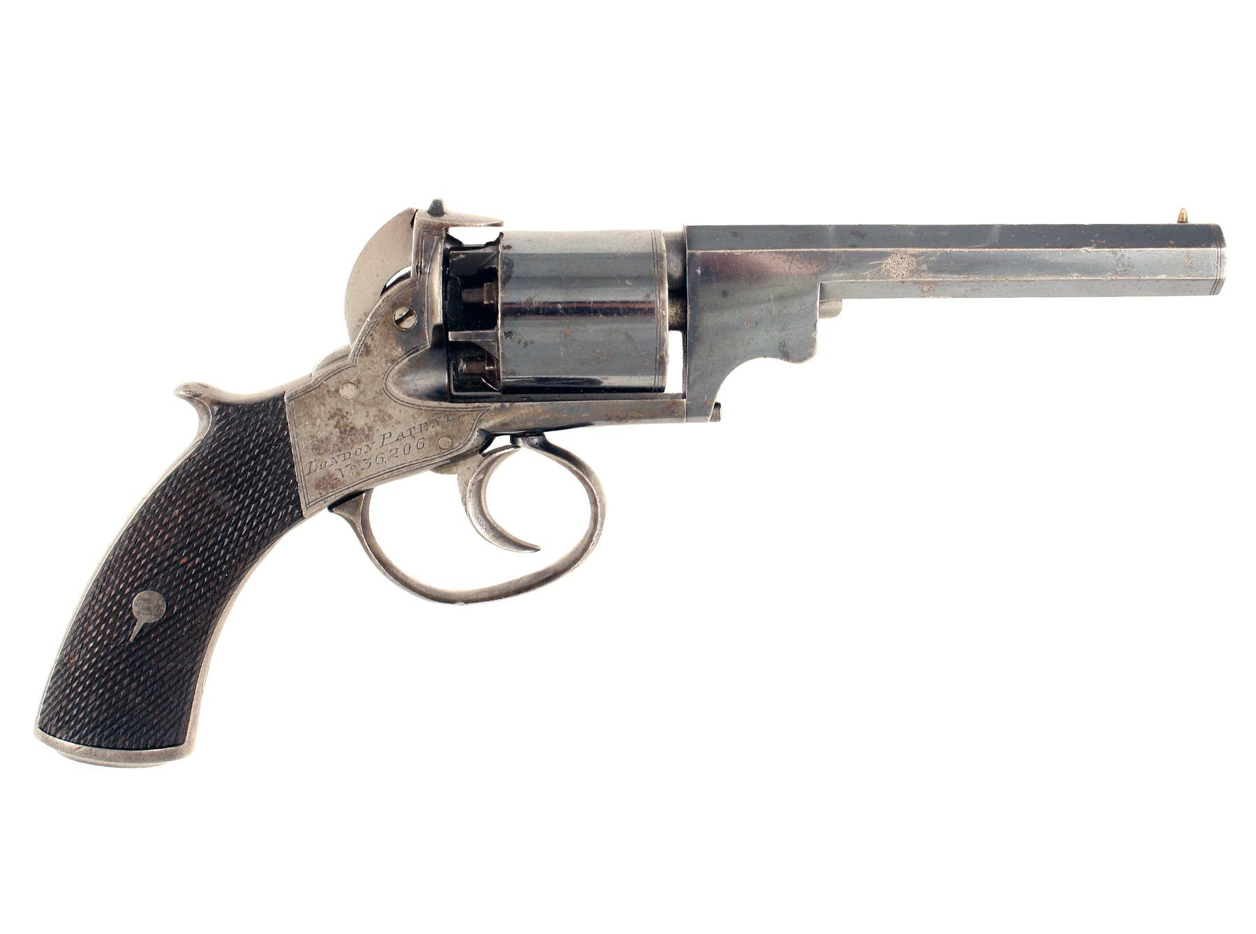 A Percussion Revolver 'London Patent'.