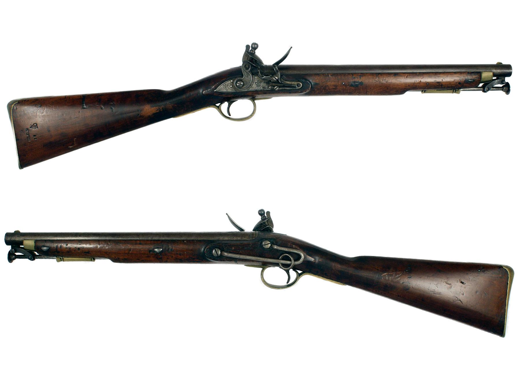 A Flintlock Paget Carbine