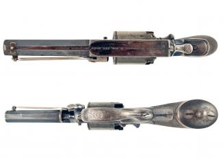 A Cased Percussion 4th Model Tranter Revolver.
