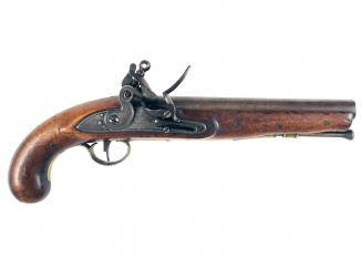 A Heavy Dragoon Pistol ex Brooker Collection