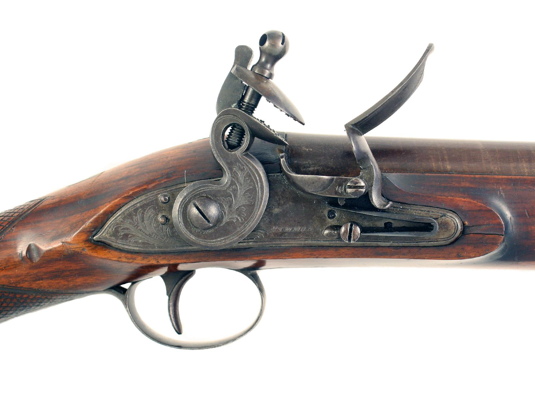 A Crisp Flintlock Blunderbuss by Simmons