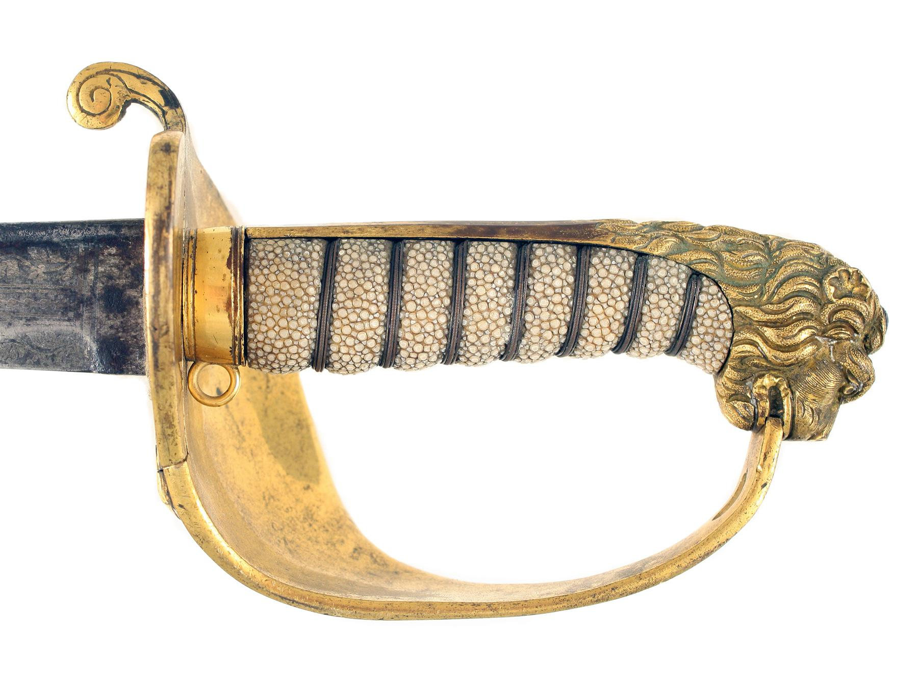 A Naval Pipe-Back Sword