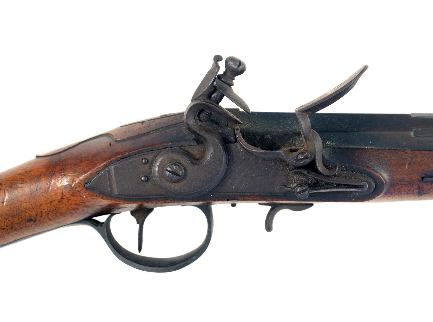 An Untouched Flintlock Blunderbuss