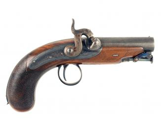 An Exceptional Irish Pistol by Calderwood of Dublin