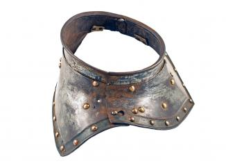 A German Gorget, First Half of the 17th Century.