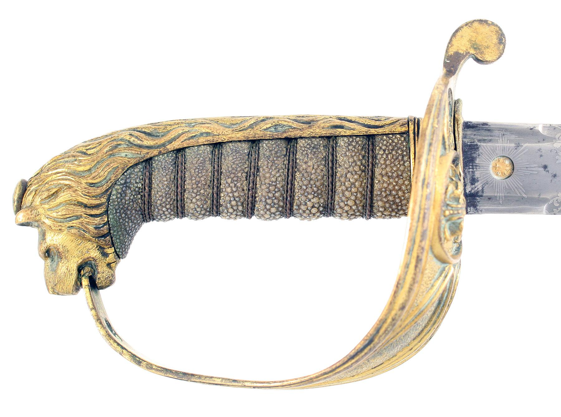 A Pattern 1827 Naval Officers Sword