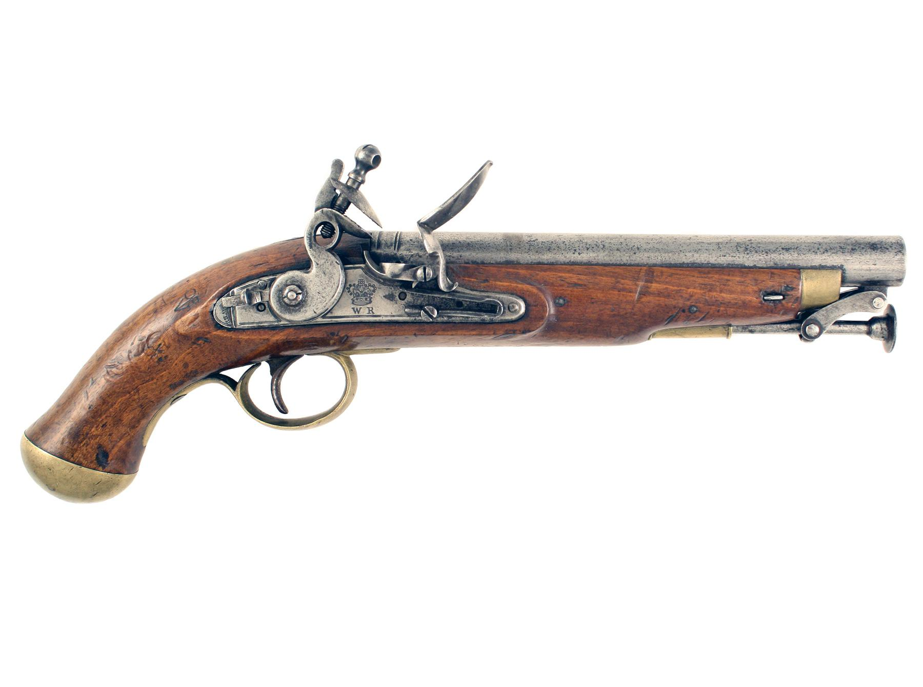 A William IV Flintlock Cavalry Pistol