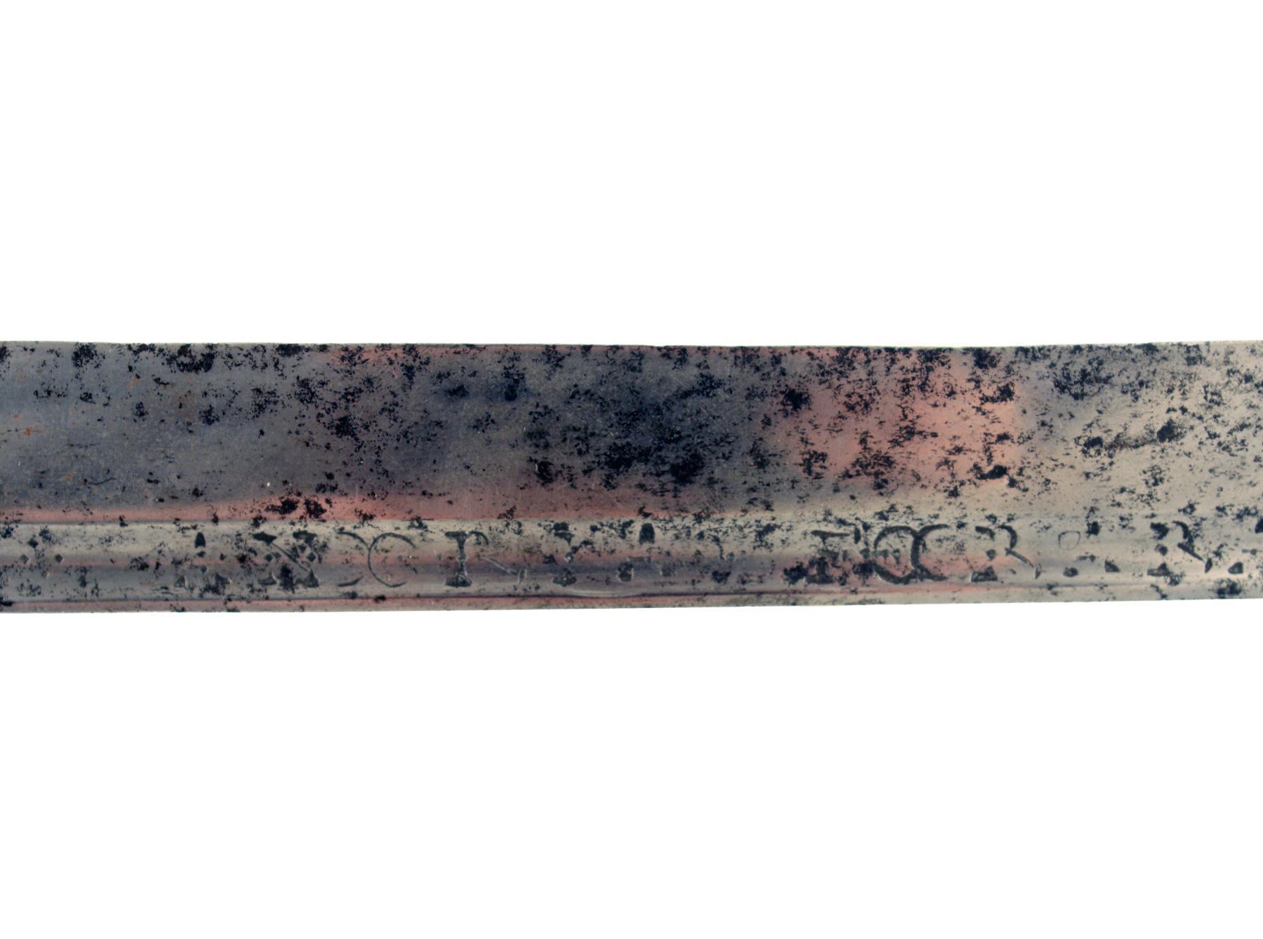 A Proto Mortuary Sword, Circa 1600.