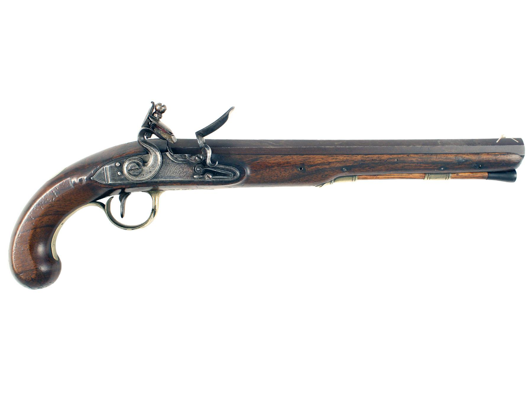 An Irish Duelling Pistol