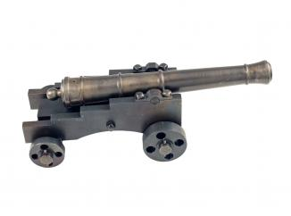 A Hand Made Model Cannon