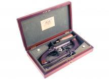A Crisp Cased Pair of Pocket Pistols