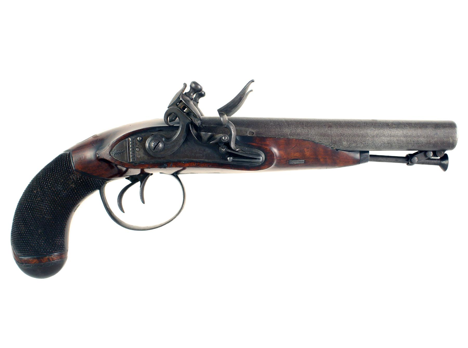 A Flintlock Carriage Pistol