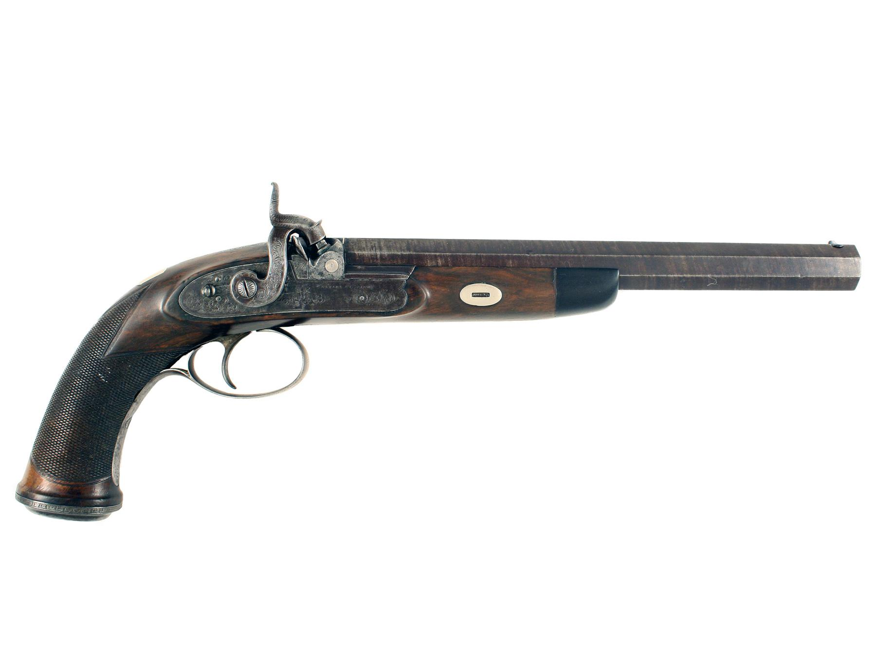 A Westley Richards Percussion Target Pistol