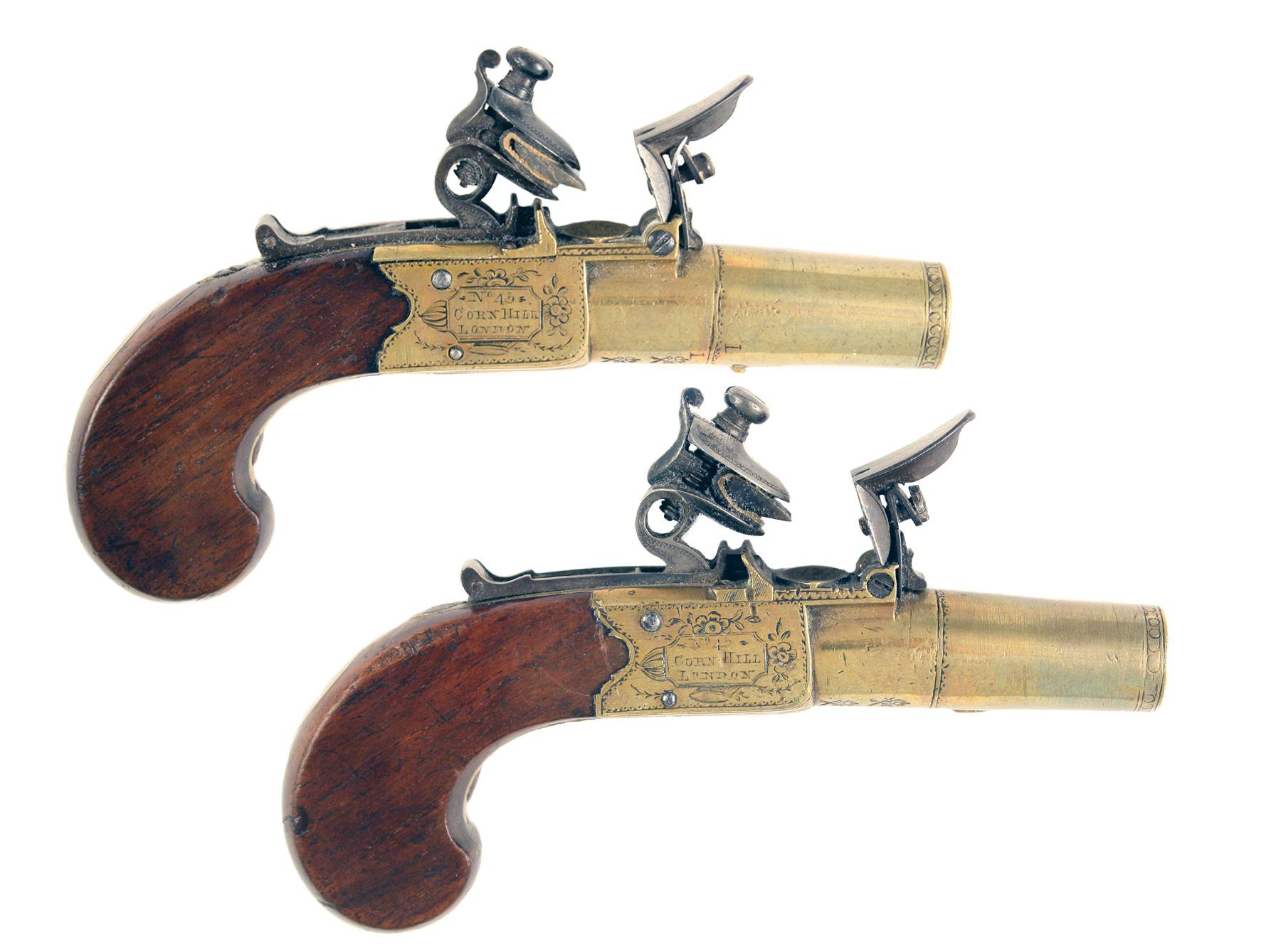 A Pair of Pocket Pistols by Nicholson