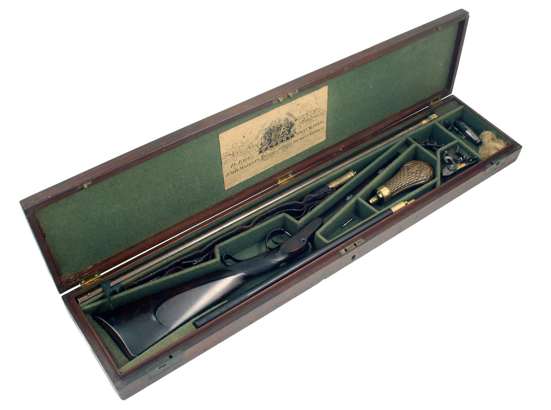 A Cased D.Egg Shotgun