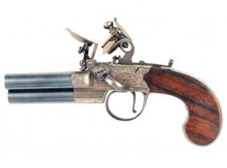 An Incredibly Scarce Three-Barrelled Pistol