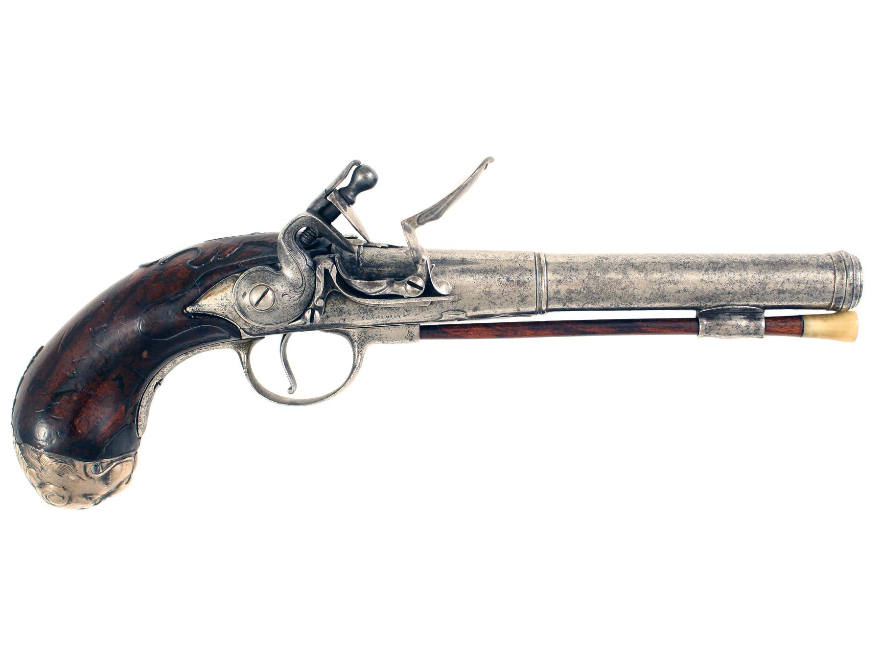 An Untouched Pair of Queen Anne Pistols