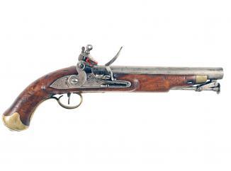 A New Land Pattern Flintlock Pistol.