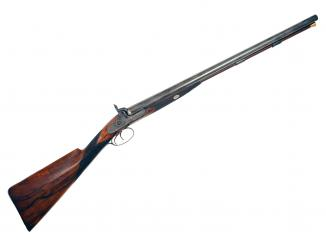 A 10-Bore Percussion Sporting Gun by Blissett