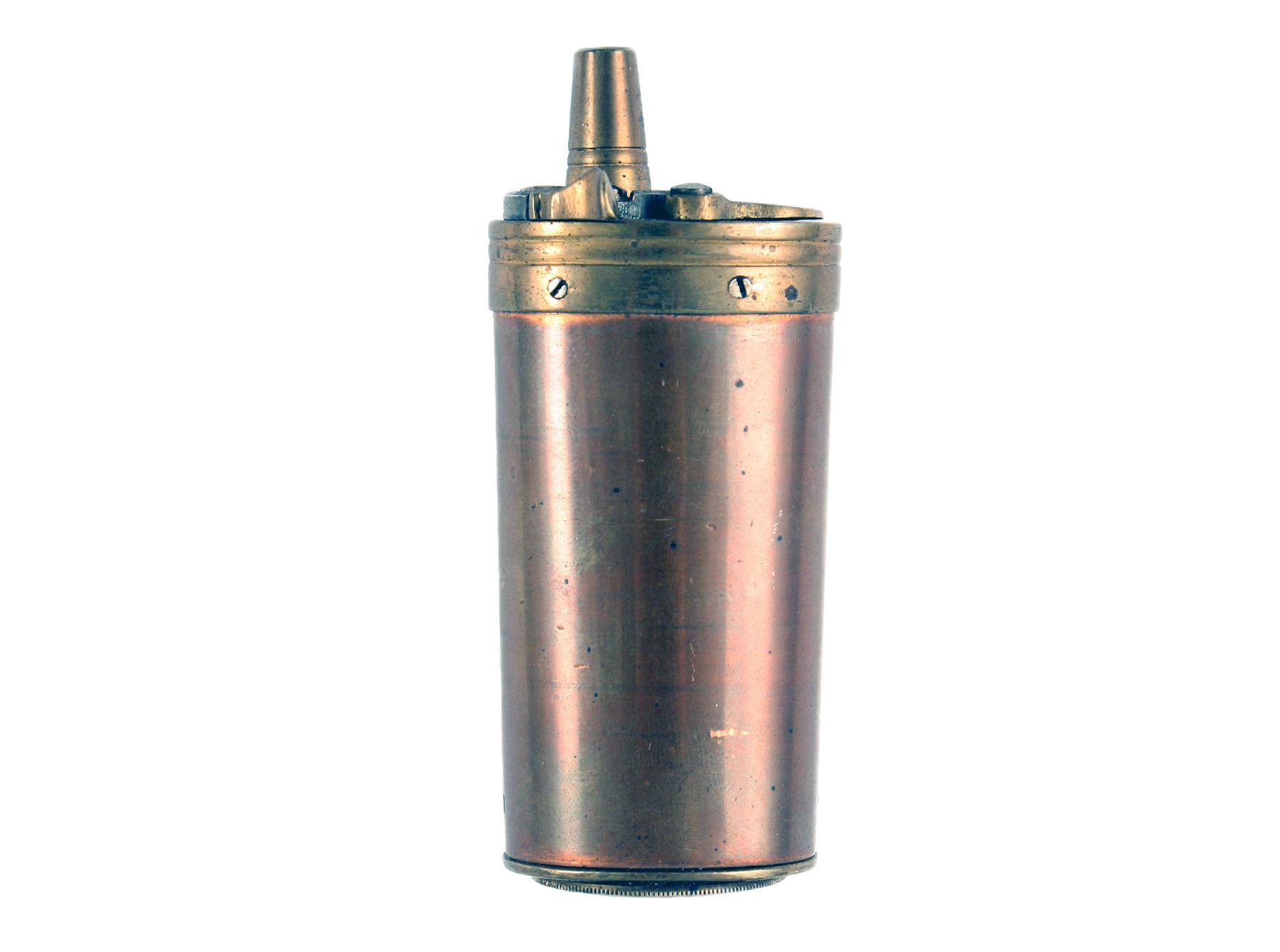 A Three Way Pistol Flask