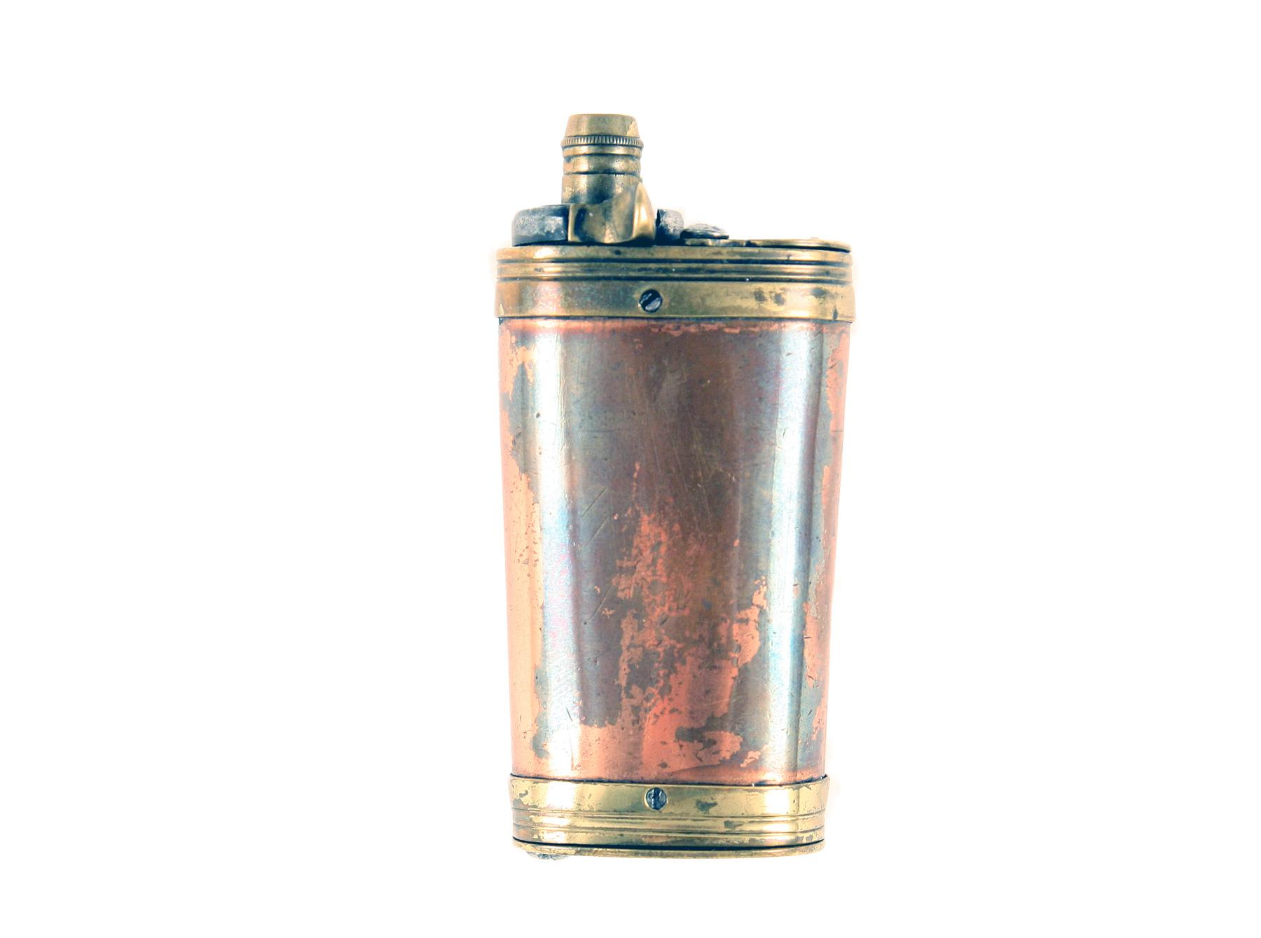A Three Way Powder Flask