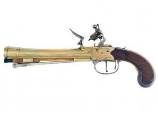 A Waters & Co. Patent Blunderbuss Pistol