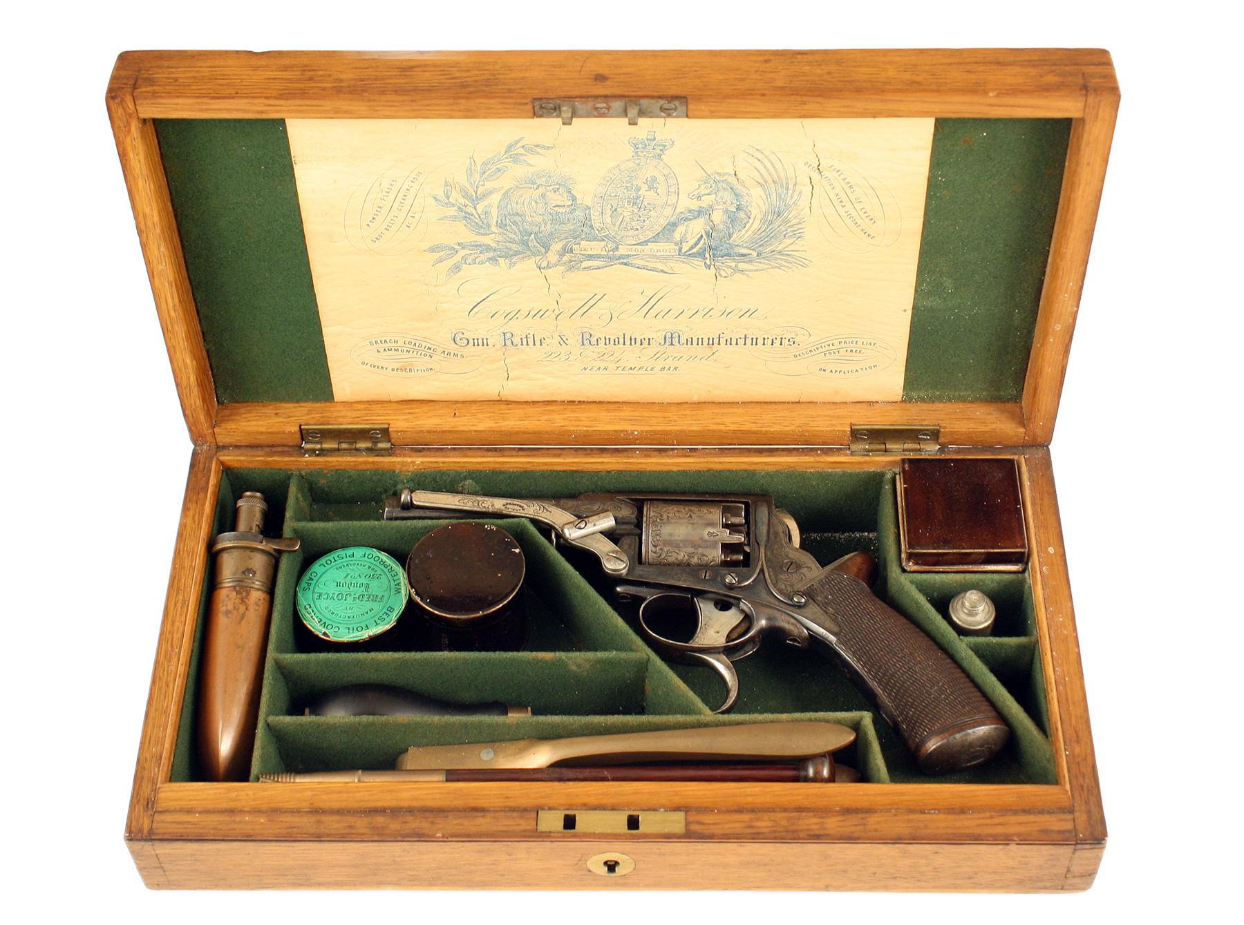 A Crisp Cased Revolver