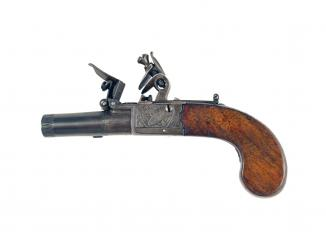 A Very Small Pocket Pistol by P. Bond of London